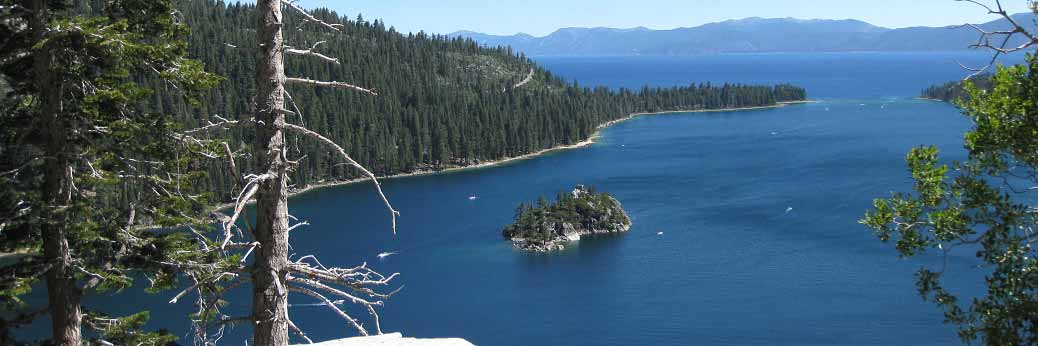Lake Tahoe: Wintereinbruch