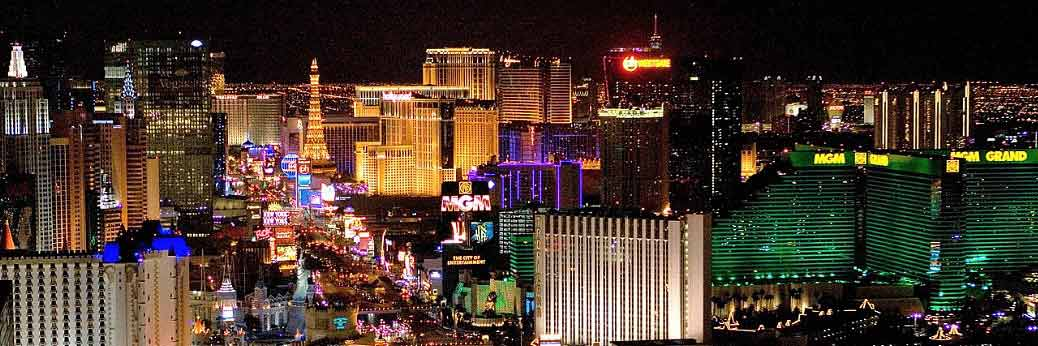 Las Vegas: Strip ohne Licht in der Earth Hour