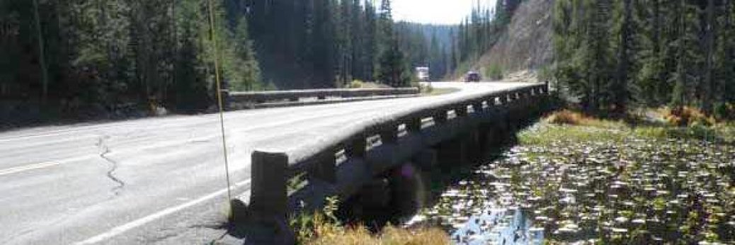 Yellowstone: Isa Lake Bridge wird rekonstruiert