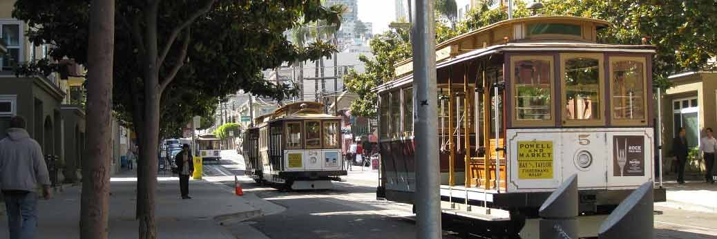 San Francisco: California Street Cable Car Line wird renoviert