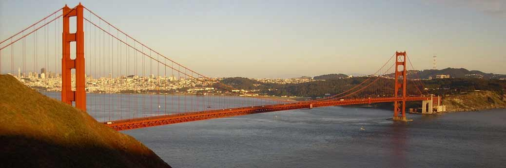 San Francisco: Golden Gate Bridge bekommt Netz
