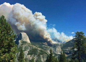 Meadow Fire im Little Yosemite Valley. Foto: NPS
